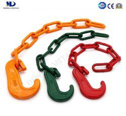 C-Hook 색상 도색 합금 강철이 있는 밧줄 연결 체인