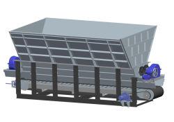 저울 소재용 자동 계량 및 분배 기계