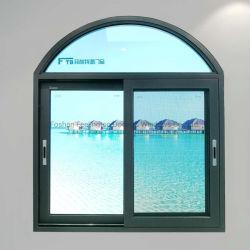 Feelingtop de haute qualité en verre double personnalisée vitres coulissantes de métal