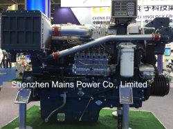 760HP 1800rpm Yuchai 바다 디젤 엔진 어선 Marino 모터