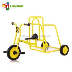 Suministro de la fábrica Andador equilibrio triciclo con remolque de bicicleta de 3 ruedas