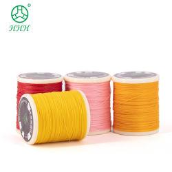 Aceptar Omd&ODM 0,6 mm de 240 colores de poliéster opción ronda cadena Cera para Pulsera cordón encerado