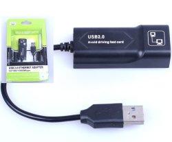 Micro USB 2.0 tot 10/100/1000 LAN van de Kaart van het Netwerk van Mbps Gigabit Ethernet RJ45 Externe Adapter