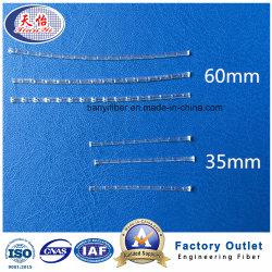 Il collegare dell'acciaio grezzo dei pp gradice il materiale da costruzione della fibra solubile a macroistruzione organica