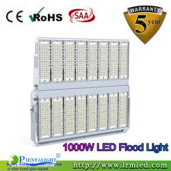 100W 150W 200W 250W 300W 400W 500W 600W 800W 1000W Projector Exterior Holofote LED Spotlight para o Estádio do Túnel Sport paisagem de ténis