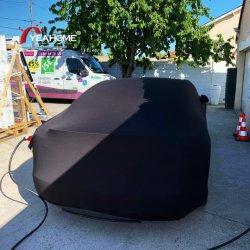 Kundenspezifischer Firmenzeichen-vollkommener Sitz-Auto-Karosserien-Deckel-staubdichter Innenauto-Deckel