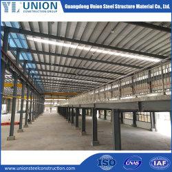 Het prefab Industriële Pakhuis van de Bouw van de Opslag van het Frame van het Structurele Staal van het Metaal