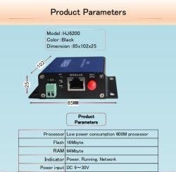 Industriële 4G LAN Linux 4G WiFi VPN van DTU Router met Periodieke RS232 RS485 P2p Nationaal Pptp L2tp Mqtt