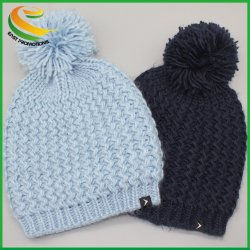 Customerized Winter Acryl Strickmütze OEM