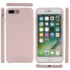 Caucho de silicona a prueba de golpes de lujo de paño de microfibra piel cubierta de teléfono de los casos para el iPhone X Xs Max Xr Funda de silicona líquida