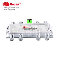8 contacts Gecen CATV 1550nm noeud récepteur optique passif