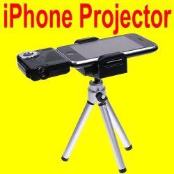 AppleのiPhone 4の三脚が付いている4s iPodのための手持ち型の携帯用小型プロジェクター