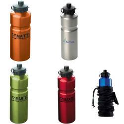 Bottiglia di acqua di alluminio di sport di corsa