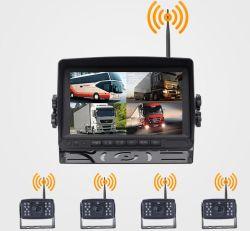 Sistema de visión trasera inalámbrico para coche, Alquiler de cámara, monitor de vista trasera del coche