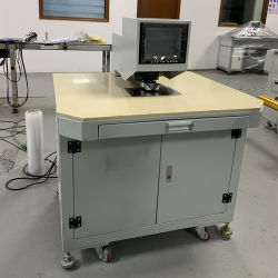 Capteur CCD semi-automatique machine de forage de trou de positionnement