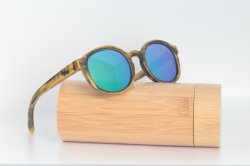 Hot Novelty Items Custom Happy New Year Geschenk Sonnenbrille Aus Holz