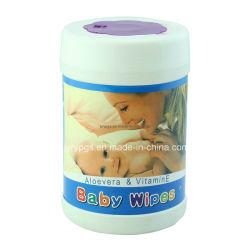 Nouveaux Chiffons de Bébé D'emballage de Baril de la Conception 80PCS