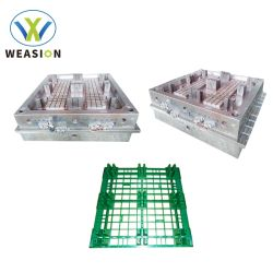 単一の直面された健康なベテランのカスタマイズされたプラスチック注入のロジスティクスの皿パレット型か鋳造物