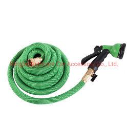 Tubo da giardino espandibile tubo flessibile ad alta pressione 8 funzione ugello di irrorazione Tubo flessibile per acqua flessibile da giardino con tutti i connettori in ottone