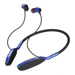 고품질 스테레오 플렉서블 스포츠 넥 밴드 밴드 베이스 Bluetooth 메모리 카드가 있는 이어폰