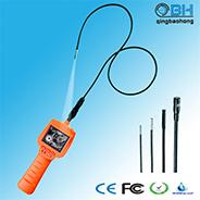"""La visión nocturna boroscopio endoscopio de la Cámara de inspección con monitor LCD de 2,4"""" y el tubo flexible de 1m"""