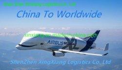 Servicio de envío de carga aérea de China a la India
