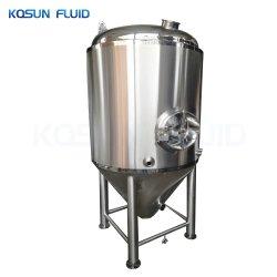5000L'isolant chemisé pour l'éthanol conique en acier inoxydable de la bière de fermentation de cidre le réservoir