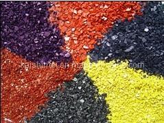 Fabriqué en Chine à faible prix des puces de pigments de PU