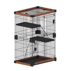 Compartimento da Caterpillar Gaiola Pet para venda Madeira Acessórios Pet Cat House Gaiolas Pet nova invenção 2020