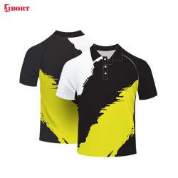Aibort 2020 최신 디자인 승화 스트라이프 폴로 셔츠(Polo-43)