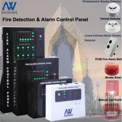 工場 8 ゾーン火災警報システム