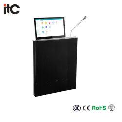Ультратонких для настольных ПК установлен безбумажной системы подъема монитора под действием электропривода