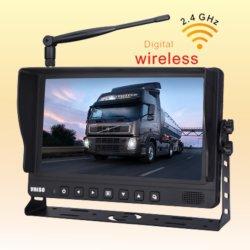 Monitor de cámara digital con soportes para agrupar las partes agrícolas