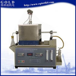 Buisvormige oven-methode Dark Petroleum Oil Tester voor het totale zwavelgehalte