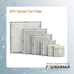Filtre de ventilation à bas prix SPF9801-9807 pour AC Ventilateur de refroidissement
