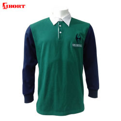 Camicia 2020 di polo lunga del manicotto di Aibort Dryfit per l'uomo (POLO-101)