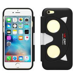 Nuovo prodotto 2016 che piega i vetri di caso di Vr per il iPhone 5/6 di cassa del telefono delle cellule di Vr di realtà virtuale di ABS+PC