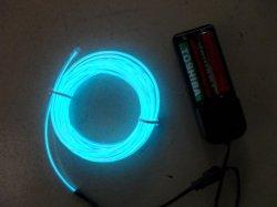 Синий индикатор мигает-провод для украшения 3м