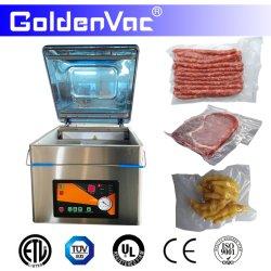 Bolsa de plástico Goldenvac alimentos automática portátil cámara única de sellado sellador multifunción El empaque al vacío envasado máquina Paquete (DZ-260/S)