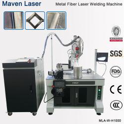 1KW 1,5 kw 2 kw Titânio em aço inoxidável alumínio metálico de acetileno e CO2 Soldador Robô Automático Cw Laser de fibra de máquinas de solda Bateria de preços de equipamentos da China