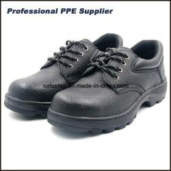 S1p GummiOutsole aufgeteiltes Leder-Sicherheits-Schuhe mit niedrigem Preis