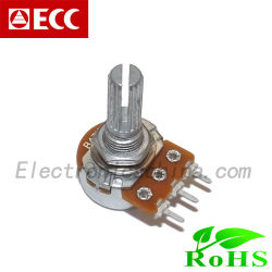 Potentiomètre rotatif utilisé pour la lampe électronique (R1610)