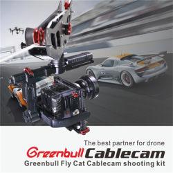 Spitzenmarke Cablecam Greenbull Flycat Kabel-Nocken für Video, Mikrofilm, Sportereignis, Fernsehapparat, Film-Aufnahme