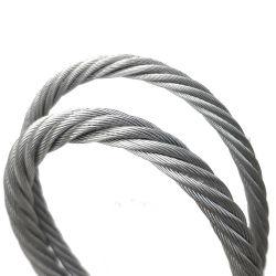 中国の炭素鋼ワイヤー7X7 7X19 1X7 1X19 6X7+FC 6X19+FC亜鉛上塗を施してあるGalvanziedの鋼線ロープの価格鋼鉄ケーブルのマルチ繊維の編みこみのワイヤーロープ