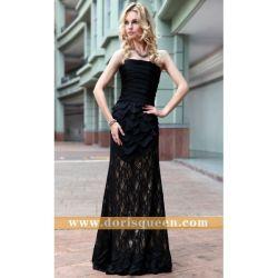 Dorisqueen A - riga Strapless Black Manufacturer Evening Dresses Zuhair Murad 2013 30556
