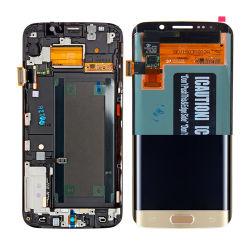 Samsung 은하 S6 가장자리 G925A G925t를 위한 셀룰라 전화 전시 접촉 수치기 LCD 스크린