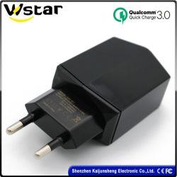Ue/EUA/CN 5V 2.4A/ 9V 1.8A/ 12V 1.5A QC3.0 Carregador Rápido