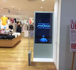 Suporte de chão 43/49/55/65polegadas de alto brilho Digital Signage Totem publicidade LCD Táctil WiFi Exibir monitor de ecrã táctil Kiosk com o Android