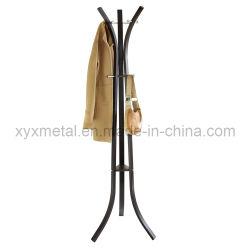 Moderner Metallbeutel-Kleiderbügel-Kleid-Kleidung-Zahnstangen-Hut-Mantel-Standplatz