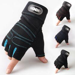 人のスポーツの手袋の高品質半分指メンズ循環のスポーツの手袋